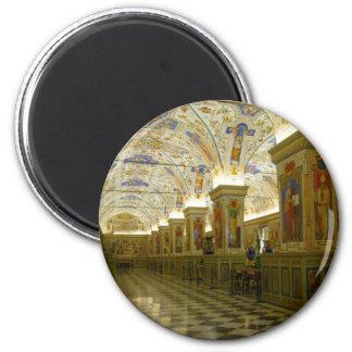 vatican museum art 2 inch round magnet