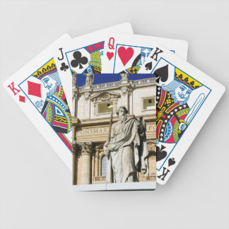 Vatican museum bicycle playing cards