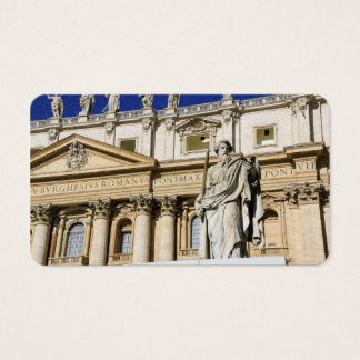 Vatican museum business card