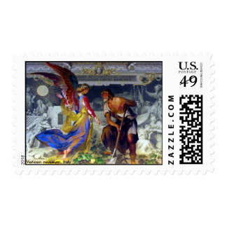 Vatican Museum, Candlearbrum Gallery / size S/M/L Stamp