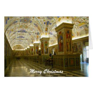 vatican museum christmas greeting card