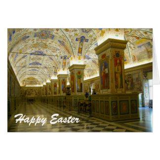 vatican museum easter greeting card