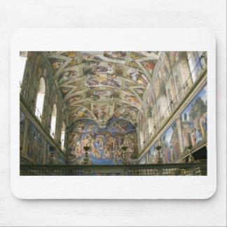 Vatican Sistine Chapel Mouse Pad