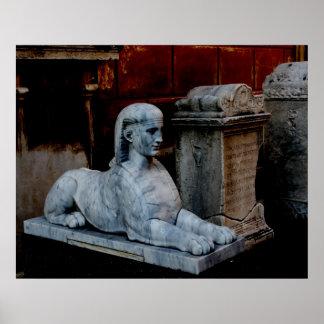 Vatican Sphinx Poster