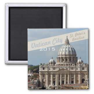 Vatican St Peters Basilica Magnet Change Year
