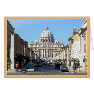 Vatican (St Peter's) Card