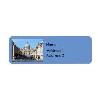 Vatican (St Peter's) Label
