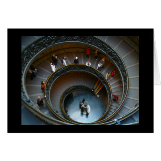 vatican stairs card