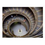 Vatican, stairway to heaven, Rome, Italy Postcard