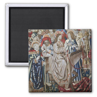 Vatican Tapestry 2 Inch Square Magnet