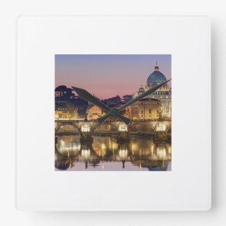 Vatican Time Square Wall Clocks