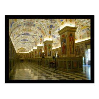 vaticani museum postcard