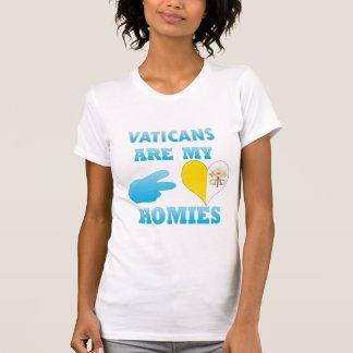 Vaticans es mi Homies Playeras