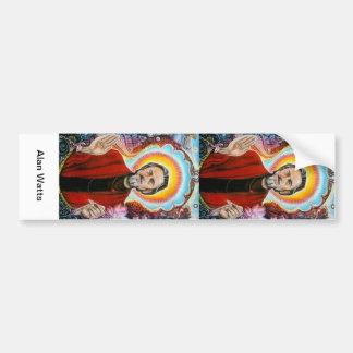 vatios de alan etiqueta de parachoque