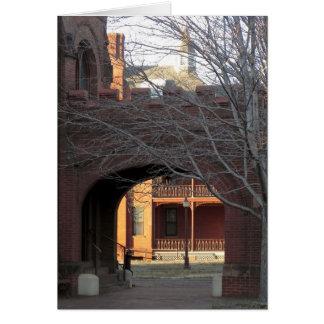 Vatios de capilla en Richmond, Virginia Tarjeta De Felicitación