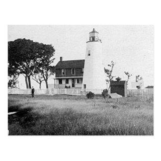 Vatios de faro de la isla postal