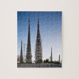 Vatios de torres Los Ángeles Rompecabezas Con Fotos