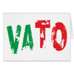 VATO GREETING CARD