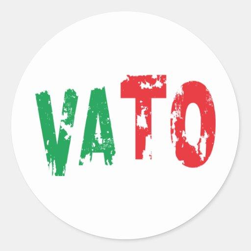 VATO ROUND STICKERS
