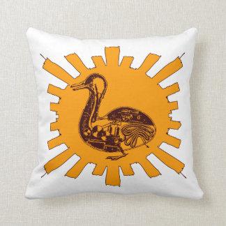 Vaucanson's Duck Pillow