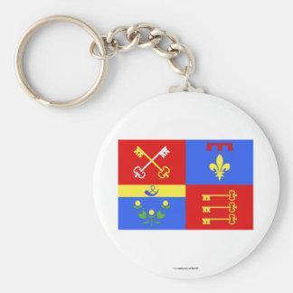 Vaucluse flag key chains