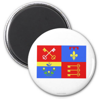Vaucluse flag fridge magnet