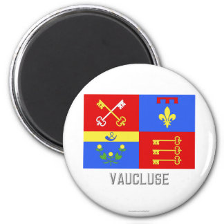 Vaucluse flag with name refrigerator magnets