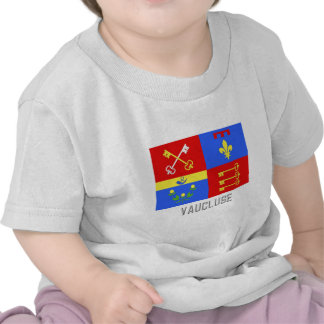 Vaucluse flag with name tee shirts