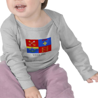 Vaucluse flag with name tees