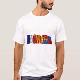 Vaucluse, Provence-Alpes-Côte-d'Azur & France flag T-Shirt