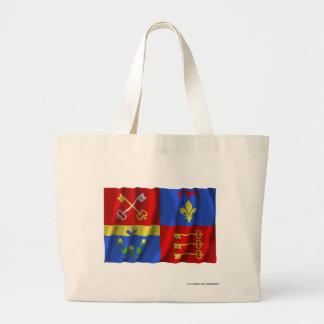 Vaucluse waving flag canvas bag