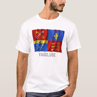Vaucluse waving flag with name T-Shirt