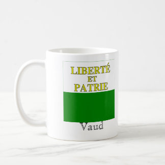 Vaud, banderas de Suisse Drapeau Tazas De Café
