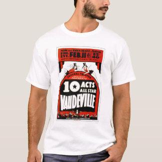 Vaudeville All Star 1938 WPA T-Shirt