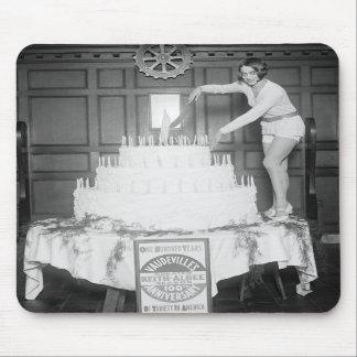 Vaudeville Birthday Party: 1926 Mousepad