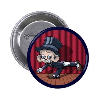 Vaudeville Hoofin' Button