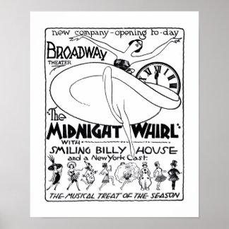 Vaudeville lineup 1922 vintage newspaper ad poster