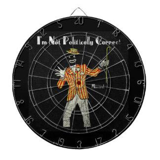 Vaudeville Preformer Dartboard