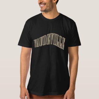 Vaudeville Retro Vintage Historic Banner Design T-Shirt