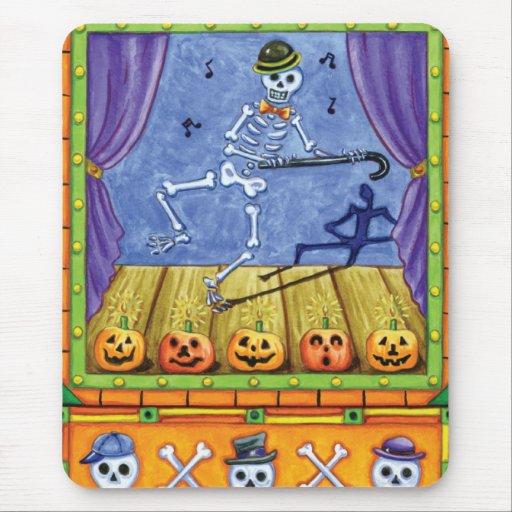Vaudeville Skeleton Mouse Pad