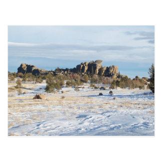 Vaudewoo - WY, USA Postcard
