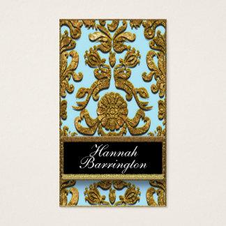 Vaudreante Flutter Damask Professional Business Card