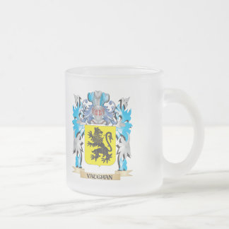 Vaughan Coat of Arms - Family Crest 10 Oz Frosted Glass Coffee Mug