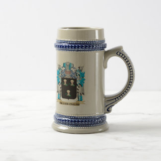 Vaughan Coat of Arms - Family Crest 18 Oz Beer Stein