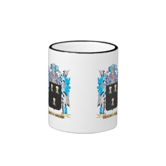 Vaughan Coat of Arms - Family Crest Ringer Coffee Mug