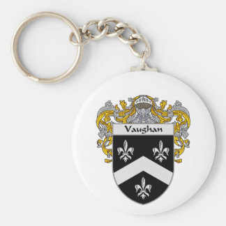Vaughan Coat of Arms (Mantled) Key Chains