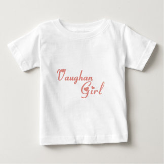 Vaughan Girl Baby T-Shirt