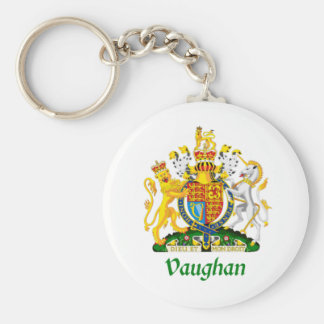 Vaughan Shield of Great Britain Keychains