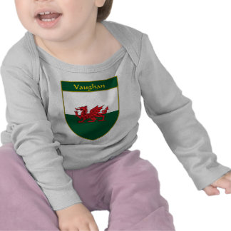 Vaughan Welsh Flag Shield Shirt