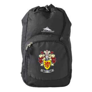 Vaughn Family Crest Coat of Arms Backpack